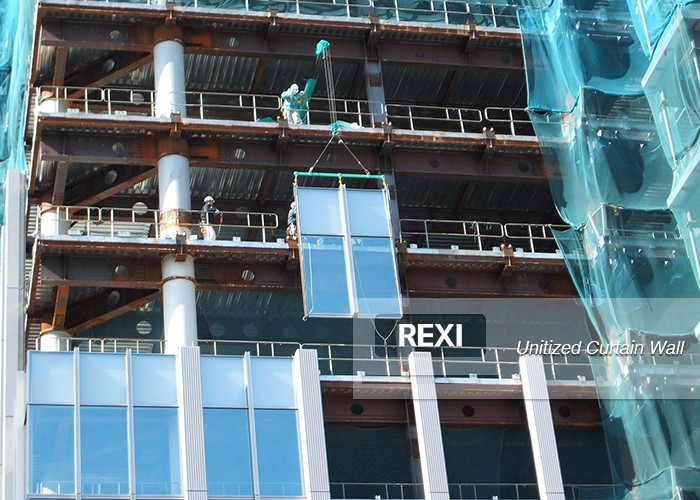 Unitised Curtain Wall-Curtain Wall-REXI